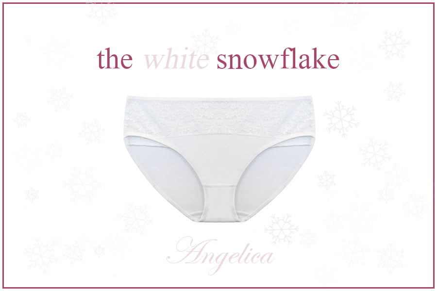 Anglica is Candis' white underwear